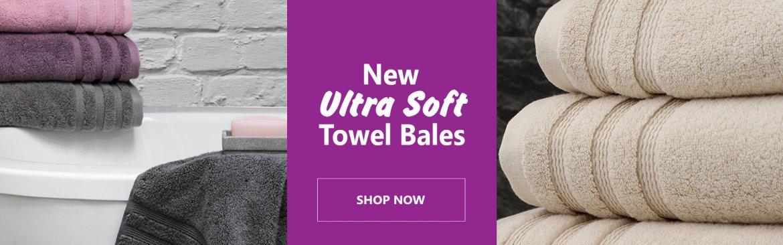 Ultra Soft Towel Bales