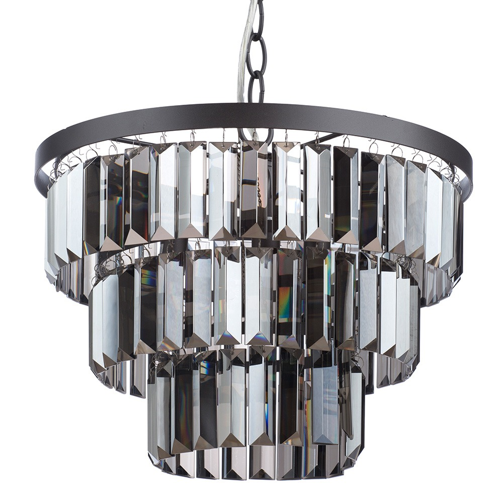 Ozzie Ceiling Light, Pewter
