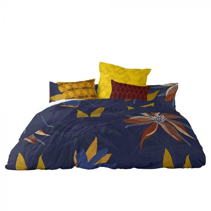 King Muyuni Bedding Set Multi Bhs, Super King Bedding Set Blue