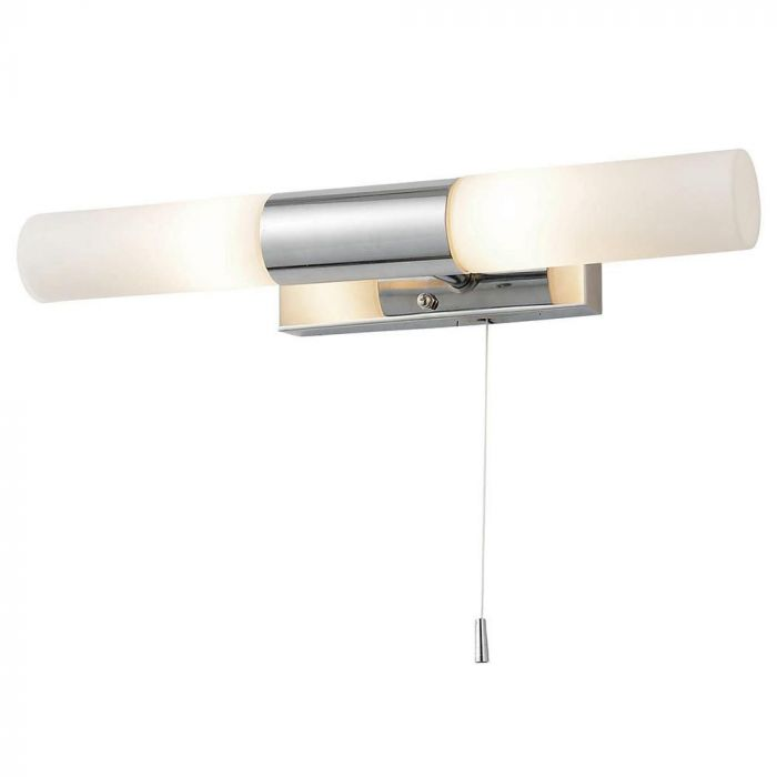 Capri Bathroom Wall Light Chrome Bhs