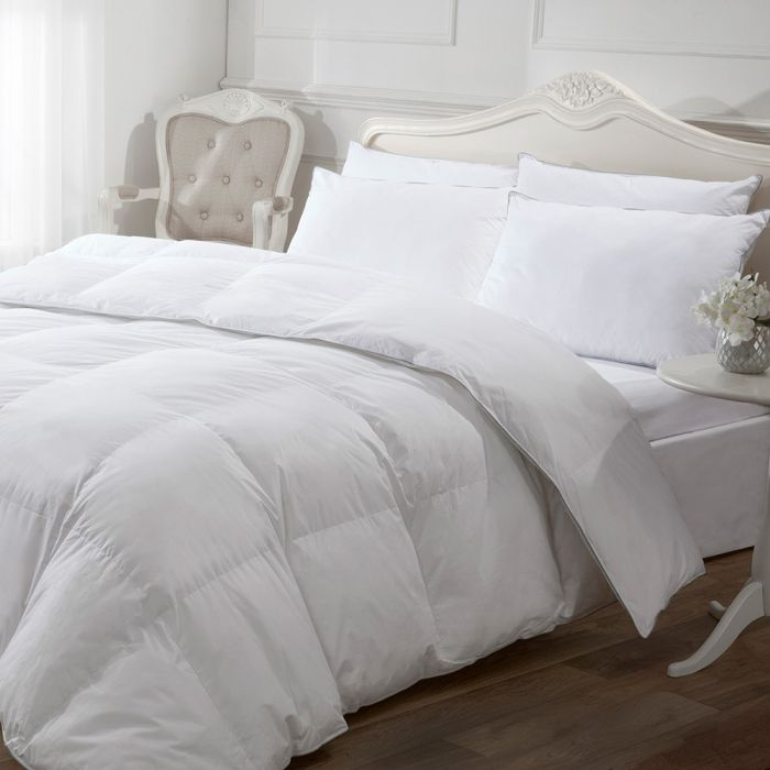 SINGLE DOUBLE KING SUPERKING FEELS LIKE DOWN ANTI ALLERGY HOLLOWFIBRE DUVET