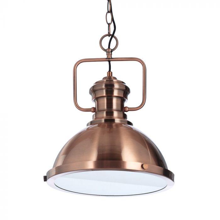 Harlow Pendant Ceiling Light Copper Bhs