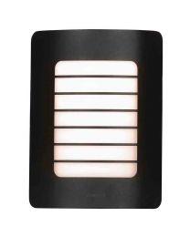 Stanley Aragon Outdoor Rectangular Wall Light - Black