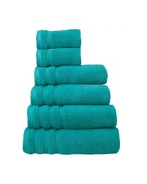6 Piece Ultra Soft Towel Bale, Bright Aqua