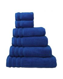 6 Piece Ultra Soft Towel Bale, Bright Blue