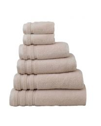 6 Piece Ultra Soft Towel Bale, Stone