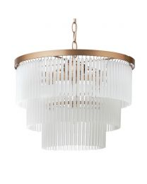 Aubrey Frosted Glass Ceiling Pendant