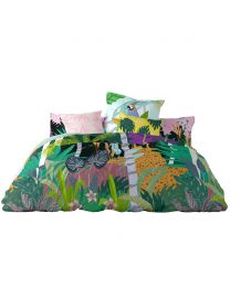 Double  Bali Bedding Set, Multi