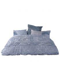 King  Bogoland Blue Bedding Set, Blue