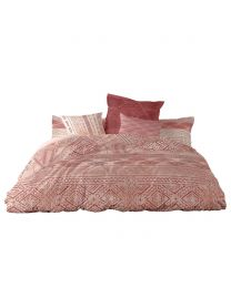 Super King Bogoland Bedding Set, Salmon