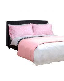 Waffle Bedspread, Pink