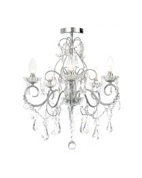 Daphne 5 Light Bathroom Chandelier