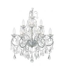 Daphne 9 Light Bathroom Ceiling Pendant