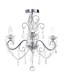 Daphne 3 Light Bathroom Chandelier