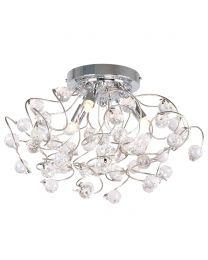 Lila Flush Ceiling Light