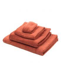 Cord Bath Towel, Brick