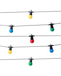 Festoon LED String Lights, Multi-Coloured