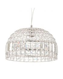 Frilee Crystal Effect Ceiling Pendant Light