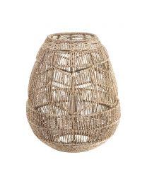 Jute String Table Lamp, Natural