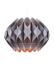 Landon Small Easyfit Shade, Dark Grey