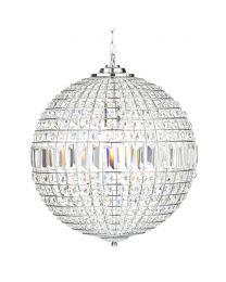 Large Ursula Crystal Ball Pendant
