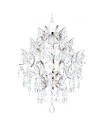 Lisa Easyfit Lamp Shade, Nickel