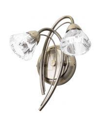 Marianne Wall Light, Antique Brass