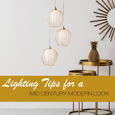 New Mid Century Lighting Collection from BHS