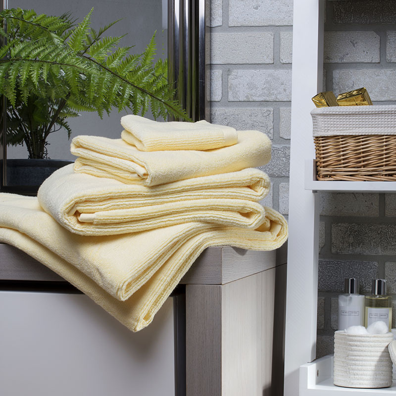 Cord Cotton Towel Bale in Sorbet