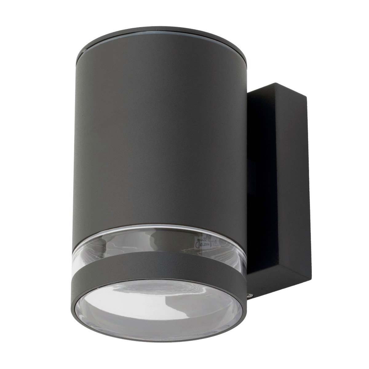 Cinder Outdoor Wall Light in Anthracite