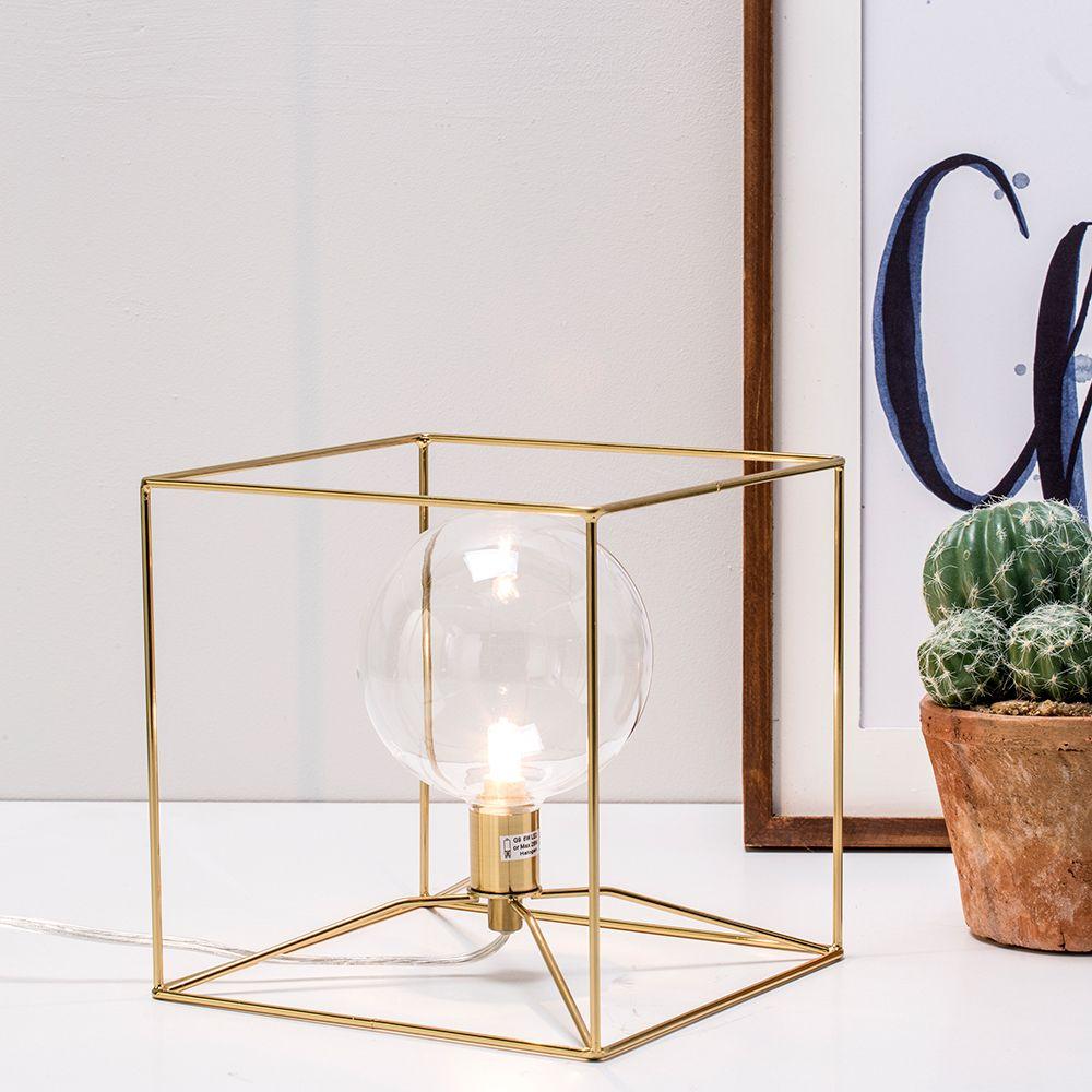 Bodhi brass table lamp