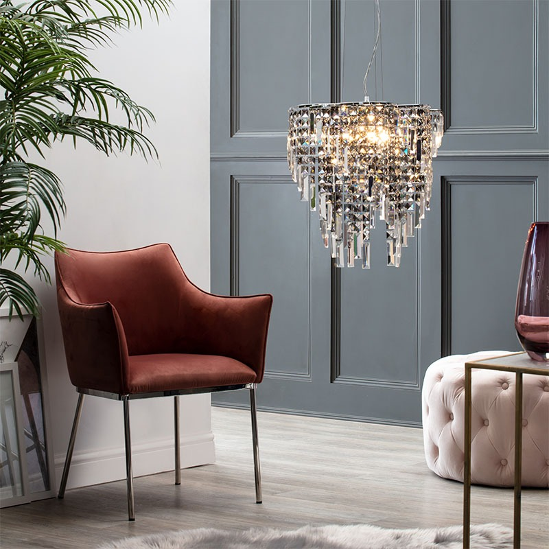 Esme Chandelier in Smoke